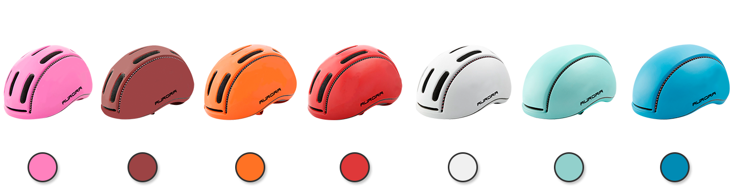 city-bicycle helmet different color