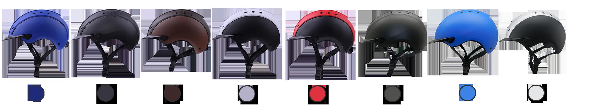 equestrian helmet different color