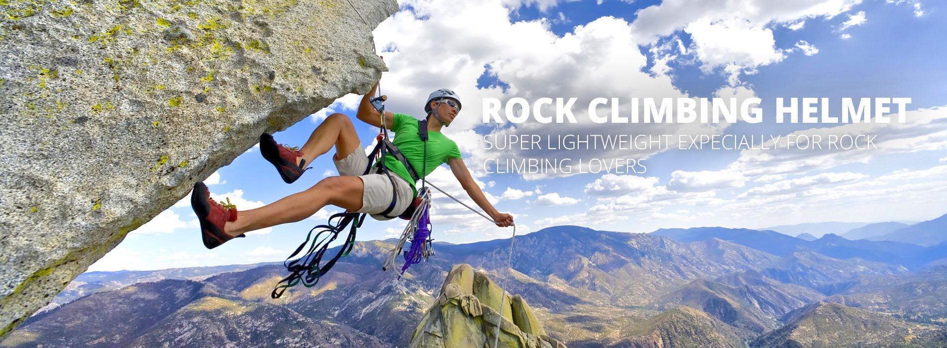 climbing helmet banner