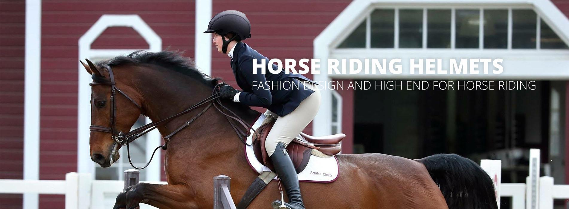 equestrian helmet banner