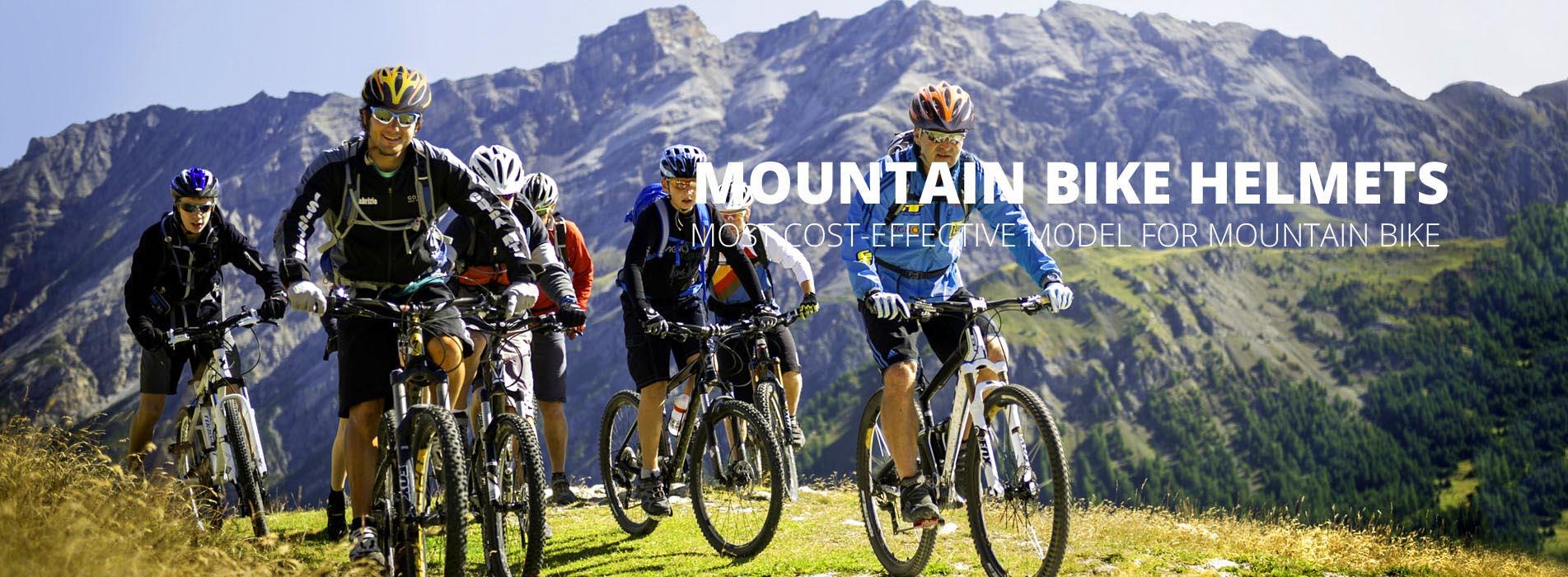 mountain bike helmet Banner