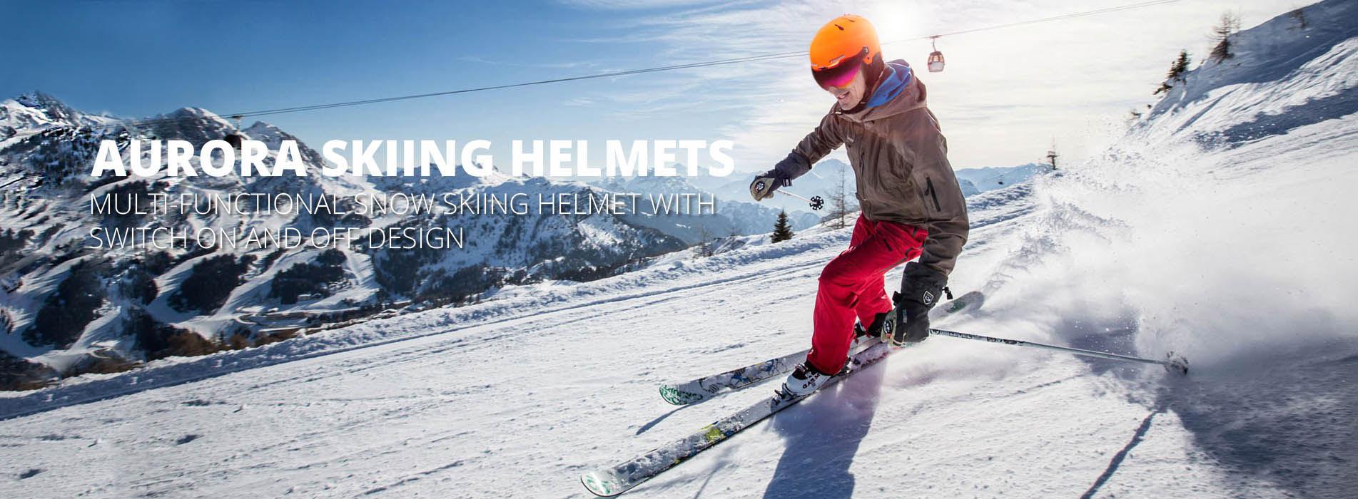 ski helmet banner