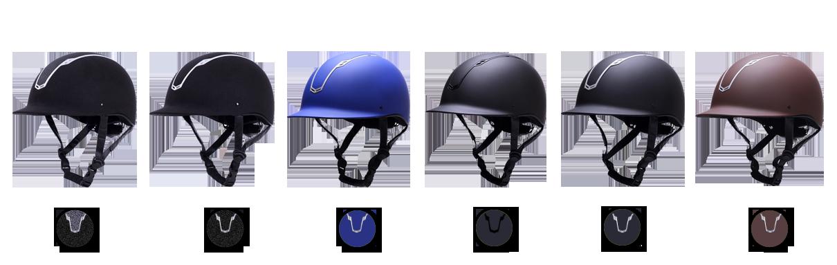 equestrian helmet-different-au-h06 color