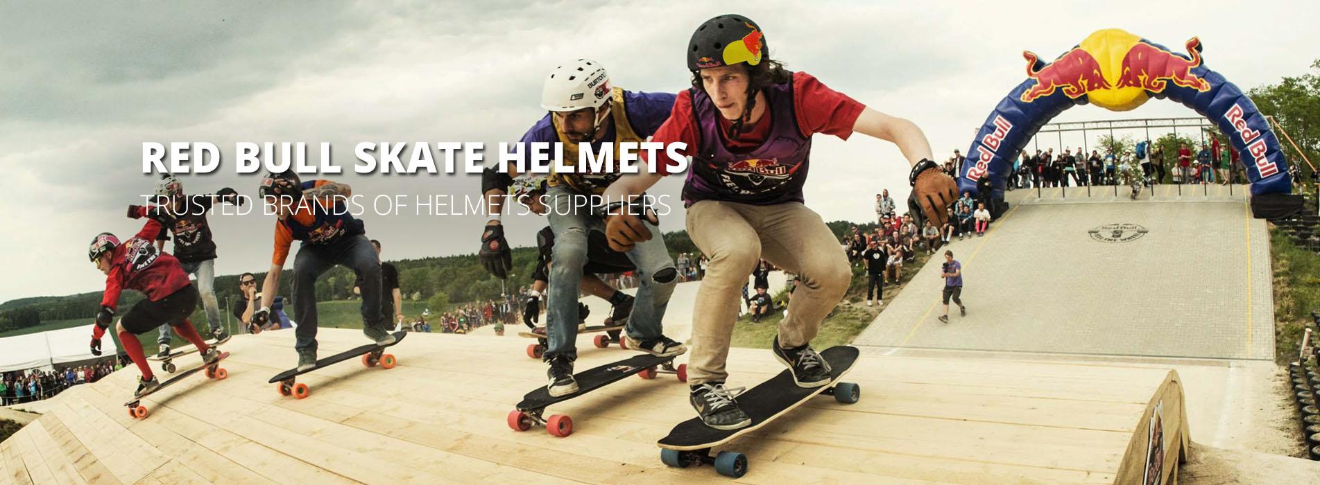 red bull skate helmet banner