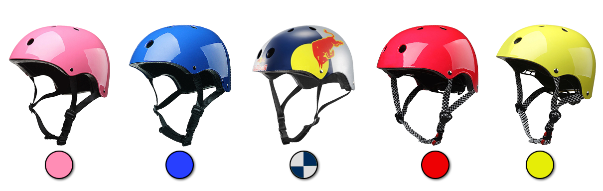 red bull skate helmet color