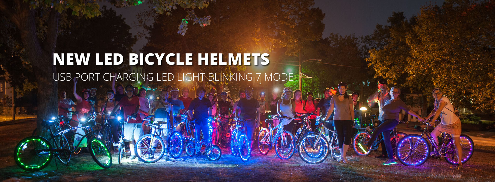 LED bike helmets R6