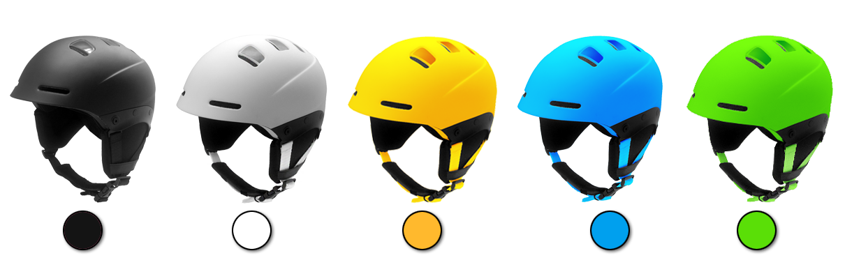 skiing helmet s06 color