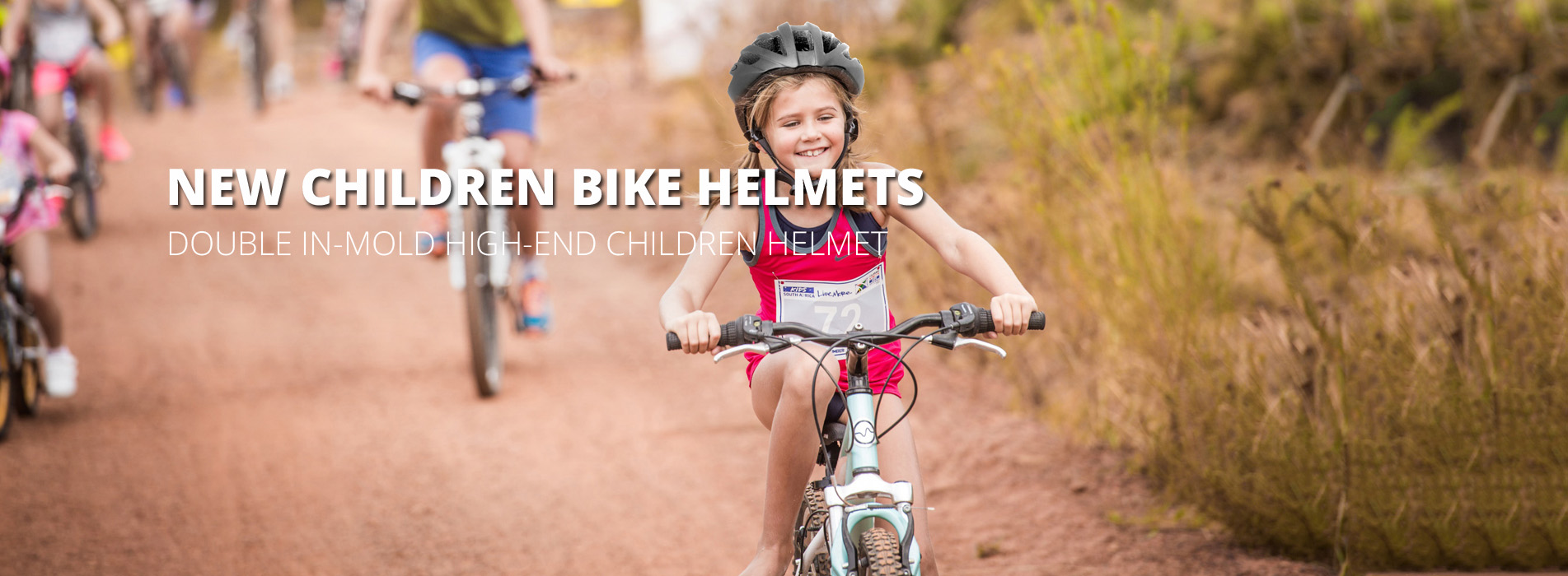 Children's bike helmet c08 banner