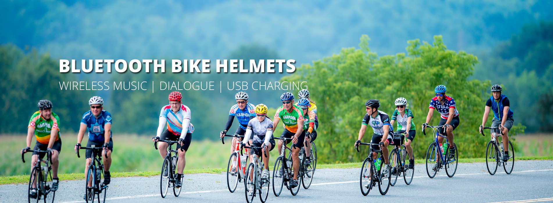 smart bike helmet R8 banner
