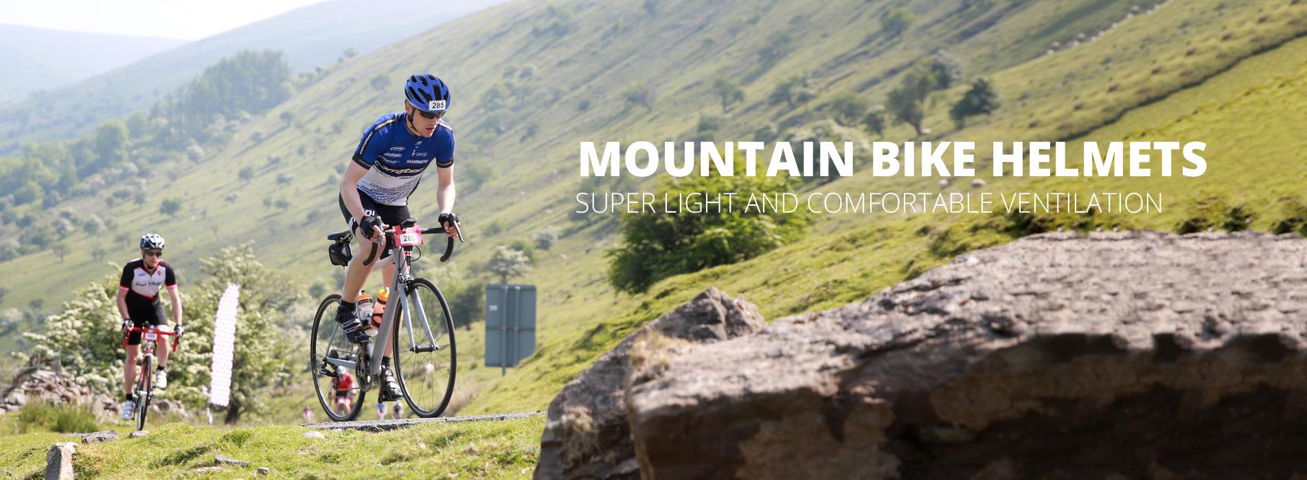 mt bike helmet banner