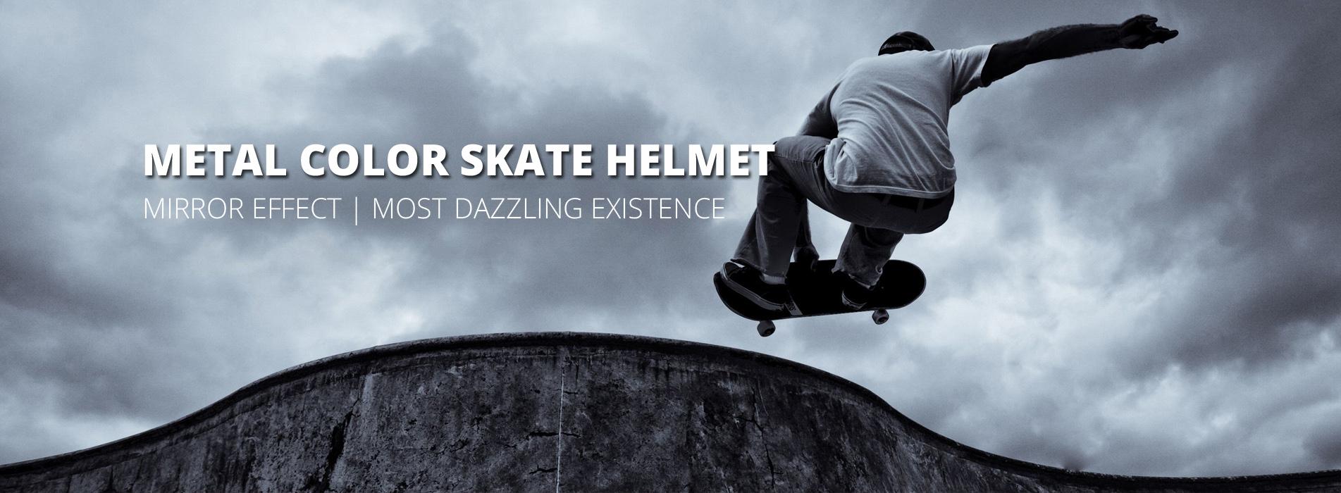 electroplating skate helmet k003 banner